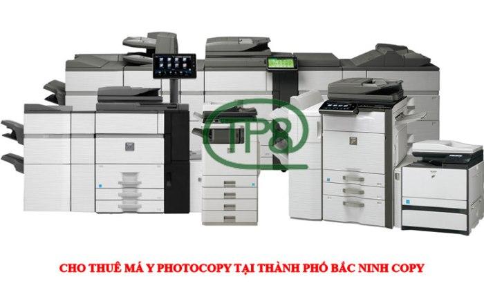 Cho thuê máy photcoopy tại Bắc Ninh